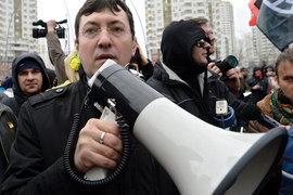 В августе прошлого года Мещанский суд Москвы приговорил одного из лидеров националистического объединения «Русские» (запрещено в России) Александра Поткина (Белова) к 7,5 года тюрьмы