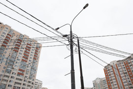 Перенос воздушных линий связи в Москве под землю может увеличить их протяженность в 3,5 раза