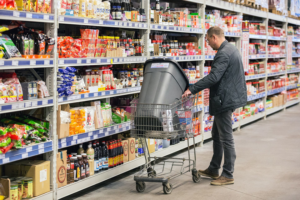 В продовольственной рознице покупатели ведут себя очень рационально и обращают внимание на цену