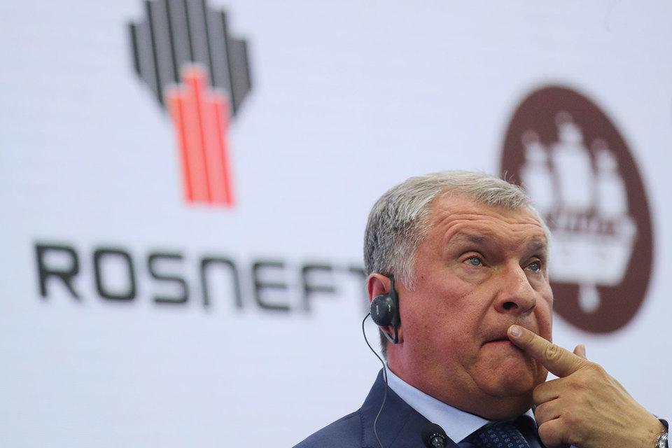 Сечин признал, что не любит говорить о санкциях