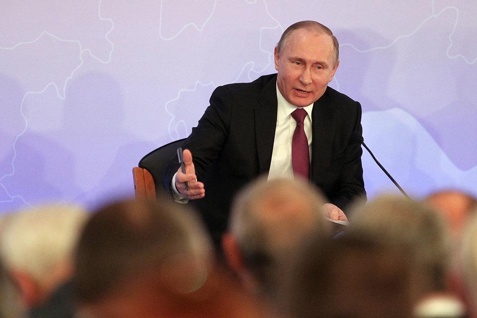 Путин не верит в возможность повлиять на выборы извне
