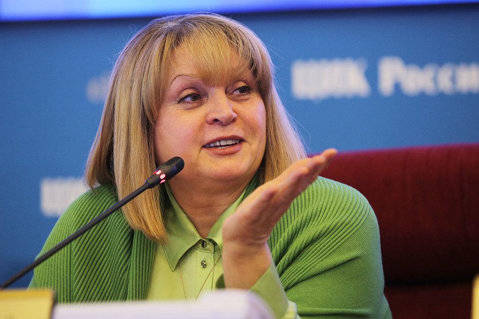 Председатель ЦИК Элла Памфилова надеется сделать выборы еще более легитимными