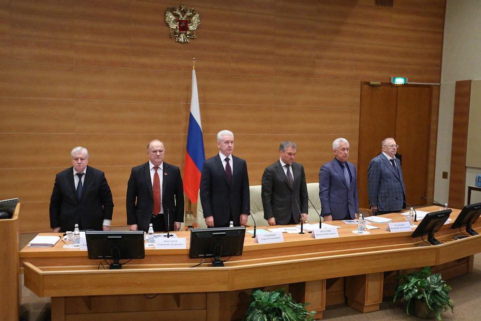 Московский мэр поблагодарил городское сообщество, включившееся в процесс