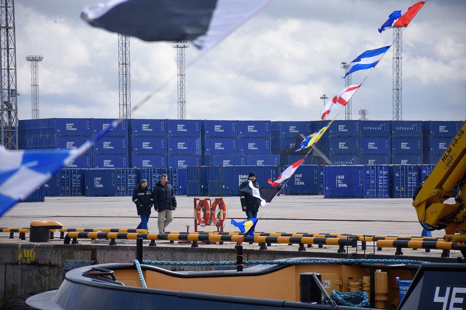 КСТП в прошлом году стал лидером среди контейнерных терминалов в Балтийском бассейне