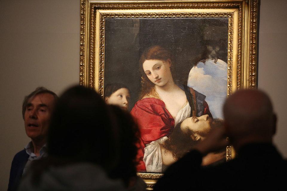 «Саломея» Тициана – главная героиня выставки в Пушкинском музее