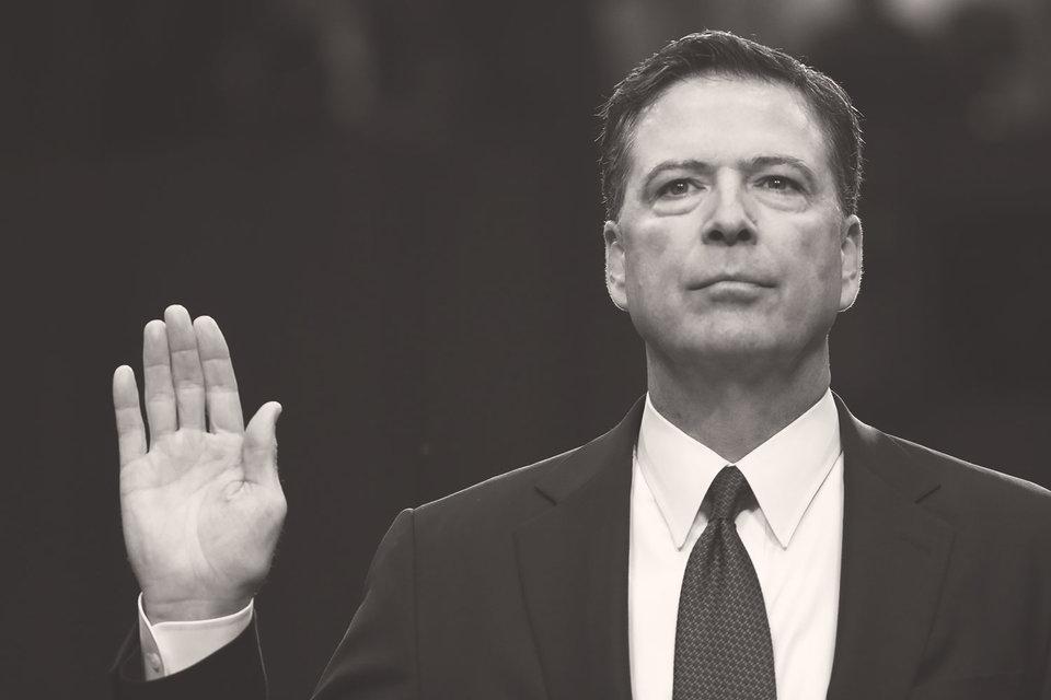 Коми подтвердил, что Трамп требовал от него, во-первых, «верности», во-вторых, закрытия расследования в отношении Майка Флинна