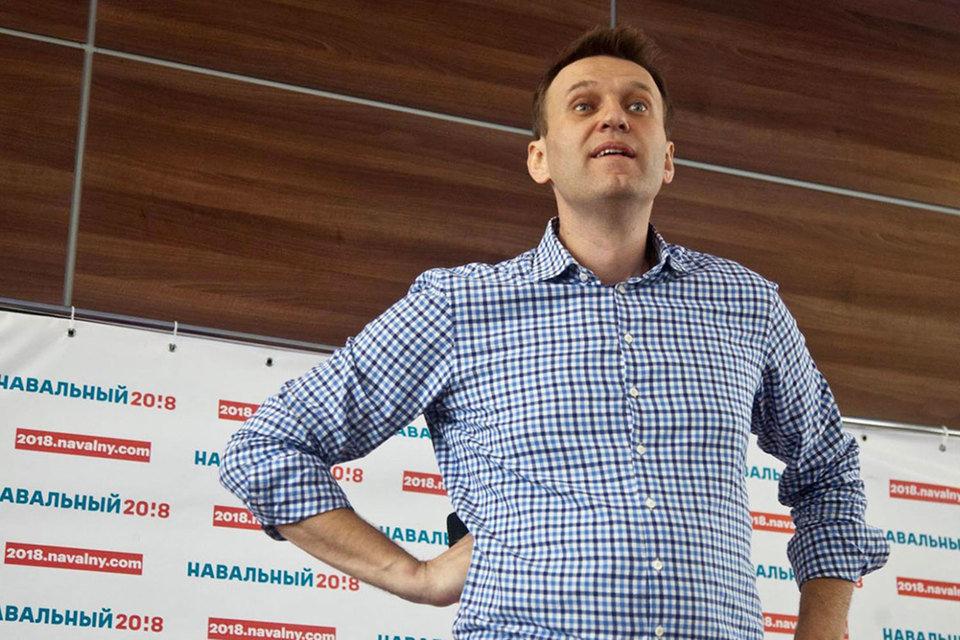 Навальный перенес акцию против коррупции с проспекта Сахарова