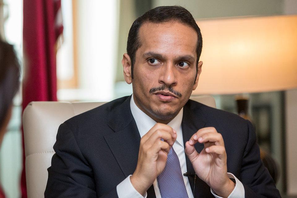 Министр иностранных дел Катара Мухаммед бен Абдель Рахман аль-Тани