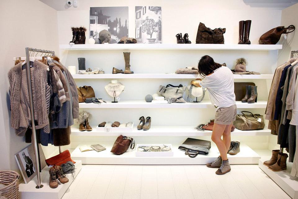 Первый монобрендовый магазин Brunello Cucinelli в Москве открылся 12 лет назад