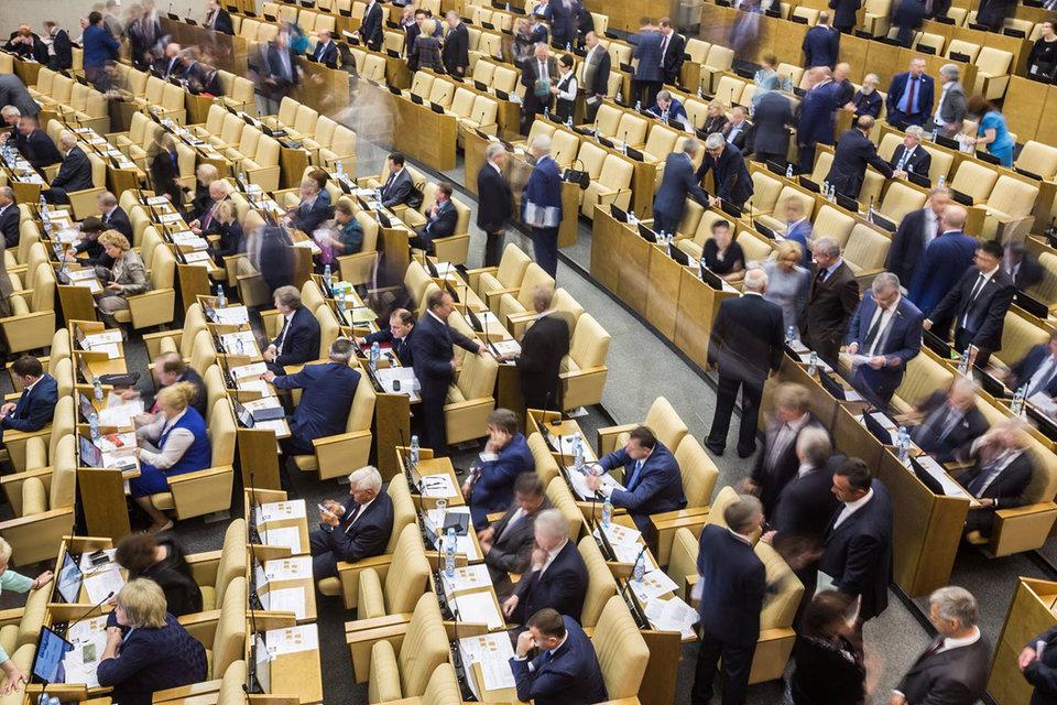 За принятие закона проголосовали 399 депутатов, против - двое, один воздержался