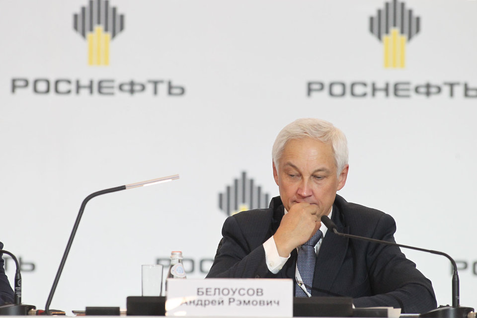 Помощник президента Андрей Белоусов может остаться во главе совета директоров «Роснефти»