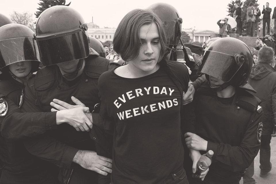 После петербургского митинга суды полностью согласились с полицией и выбрали для задержанных максимально жесткие санкции
