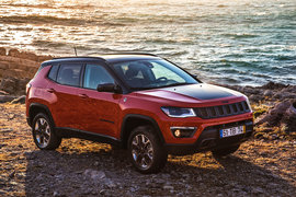 По оснащению для бездорожья Jeep Compass не уступает «старшему брату» Grand Cherokee