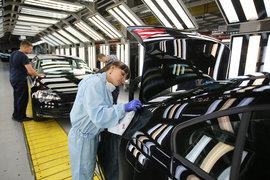Сейчас конвейер в Нижнем Новгороде, выпускающий автомобили группы Volkswagen, недозагружен