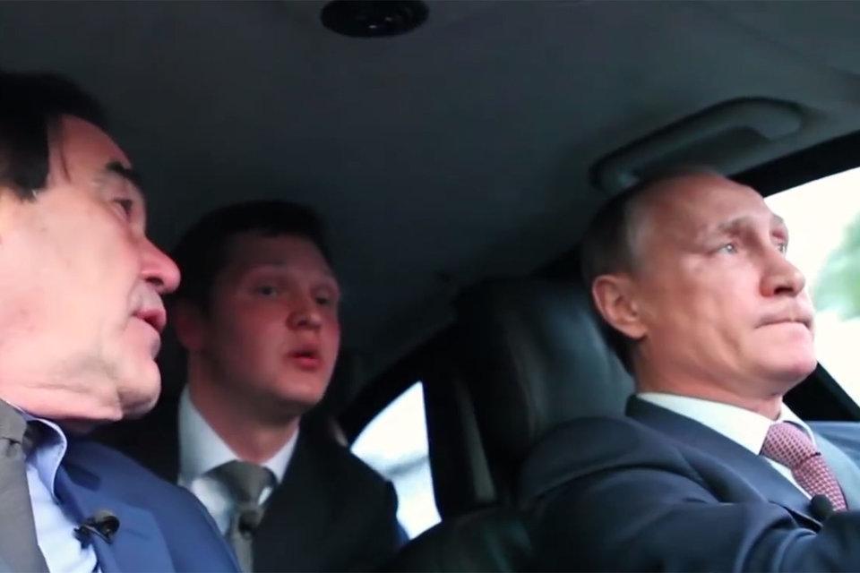 Кадр из фильма «Интервью Путина»