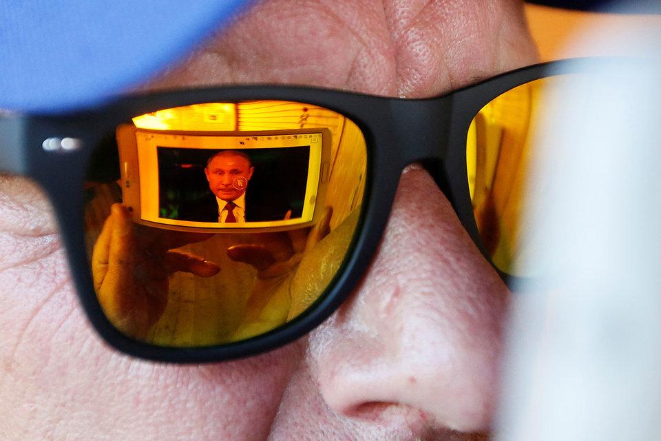 Отвечать на так и не заданный главный вопрос Владимиру Путину не пришлось