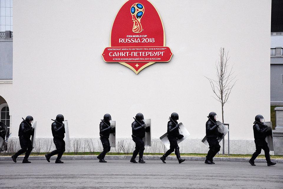 Основная нагрузка ляжет на полицию и подразделения Росгвардии в городах проведения Кубка
