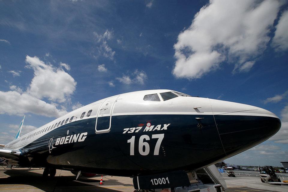 Boeing представил новую модификацию самолета 737 Max