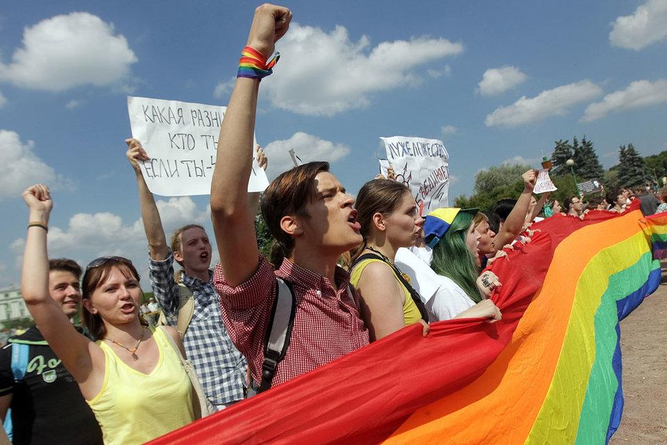 Российские законы ограничивают права сексменьшинств на самовыражение, считают в ЕСПЧ