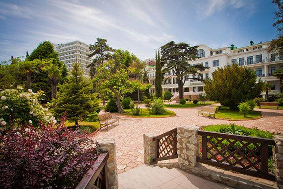 Отель в Крыму оказался очень дорог