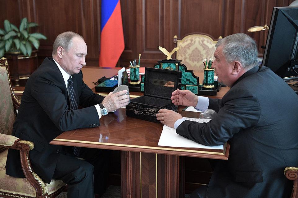 Сейчас «Роснефть» платит акционерам не менее 35% чистой прибыли