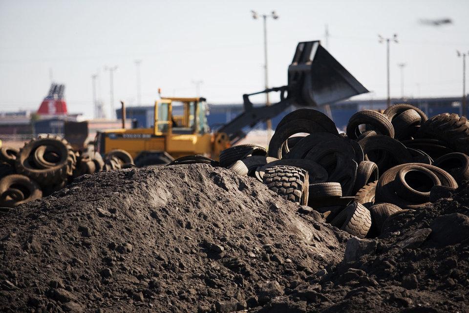 Почти две трети изношенных покрышек захоранивается без переработки