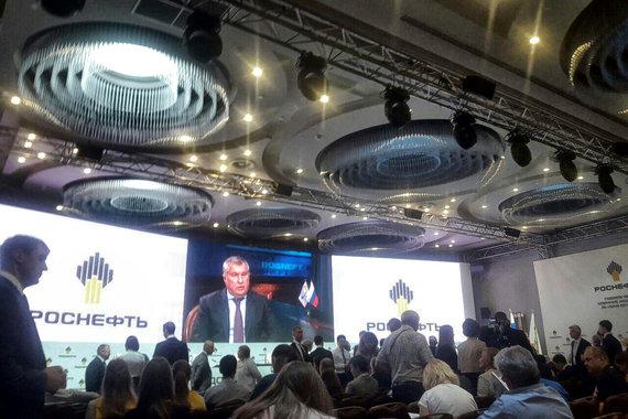 В Сочи закончилось годовое собрание акционеров «Роснефти»
