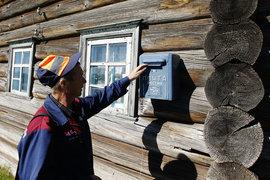 Во время прямой линии ведущие зачитали жалобу почтальона на зарплату в 3600 руб.