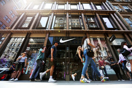 Nike намерен нарастить присутствие в сети и ограничить онлайн-продажи бренда сторонними продавцами