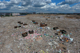 На «Кучино» вывозили 90% коммунальных отходов столицы