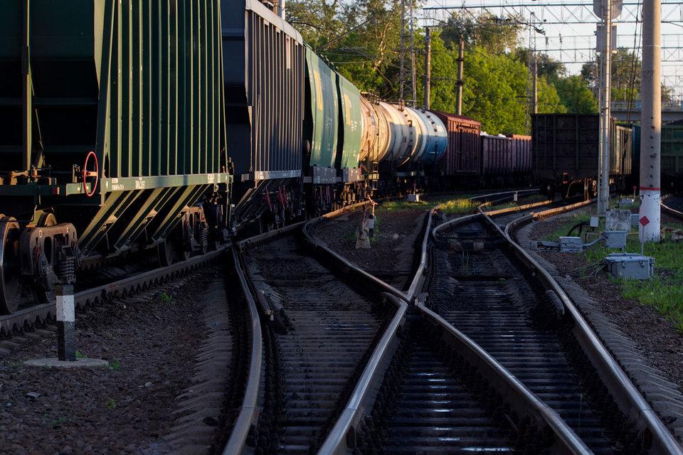 Перевозки по железной дороге растут, особенно на Дальний Восток