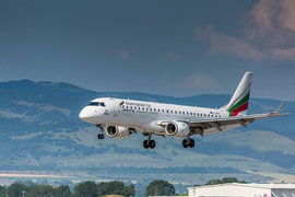 Bulgaria Air, подала заявку 16 июня, чтобы получить доступ к маршруту в замен аннулированных до конца летнего сезона рейсов авиакомпания «ВИМ-авиа»