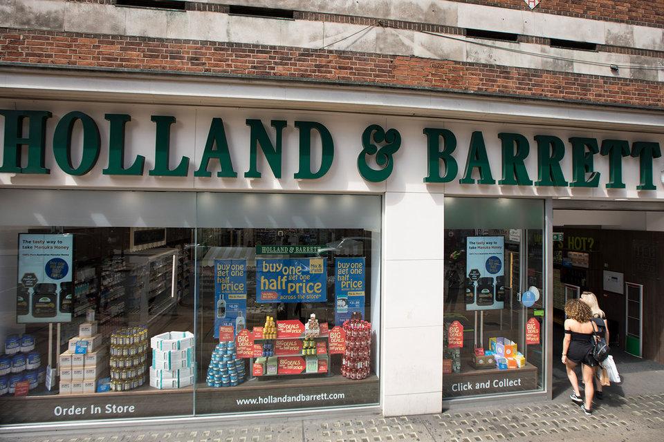 Британская Holland & Barrett основана в 1870 г., сейчас в сеть входит более 1150 магазинов во всем мире