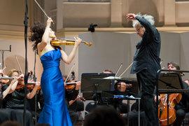 Алена Баева и Александр Лазарев составили блестящий ансамбль