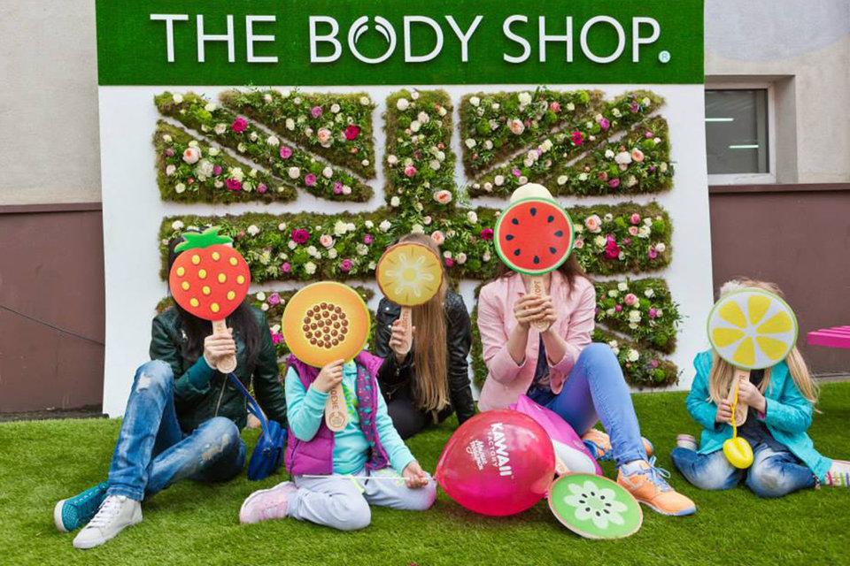 Бренд The Body Shop основан в 1976 г.