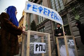Законодательное собрание Санкт-Петербурга на заседании в среду окончательно заблокировало инициативу проведения референдума