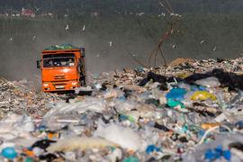 На российских мусорных полигонах осталось мало свободного места