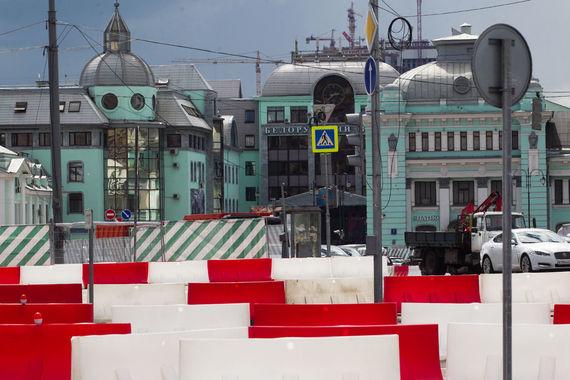 normal 1aex Площадь Белорусского вокзала обустроит подрядчик реконструкции Тверской