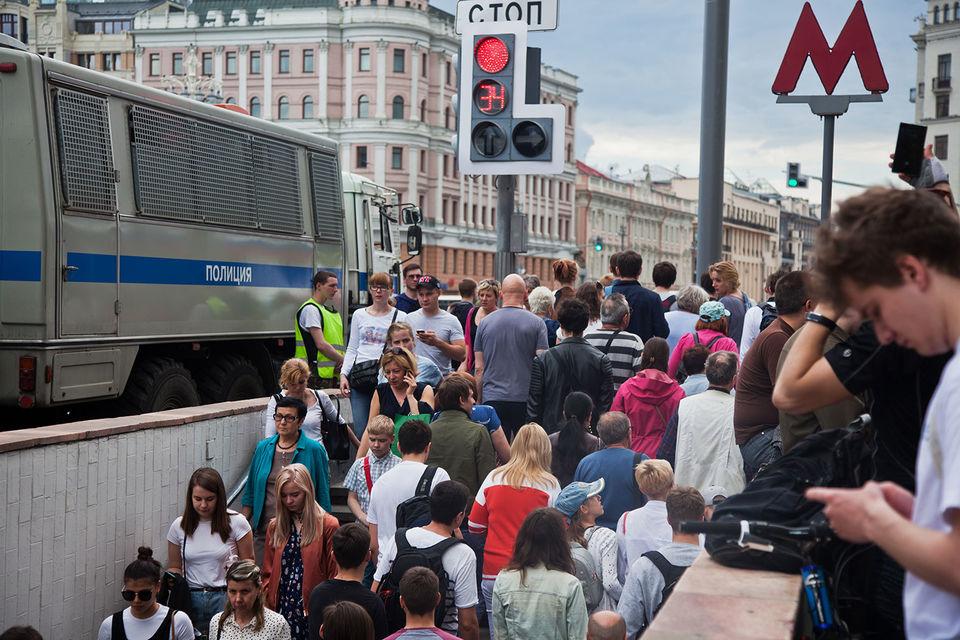 Московские власти используют «мягкие меры по мотивации пассажиров сдвигать время поездки»