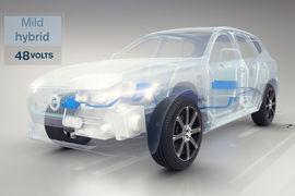 Через два года Volvo будет выпускать три вида автомобилей с электродвигателями – полностью электрические, гибридные и мягкие гибриды (на фото)