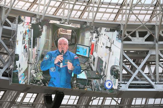 Член основного экипажа 51/52-й экспедиции на Международную космическую станцию космонавт Роскосмоса Федор Юрчихин