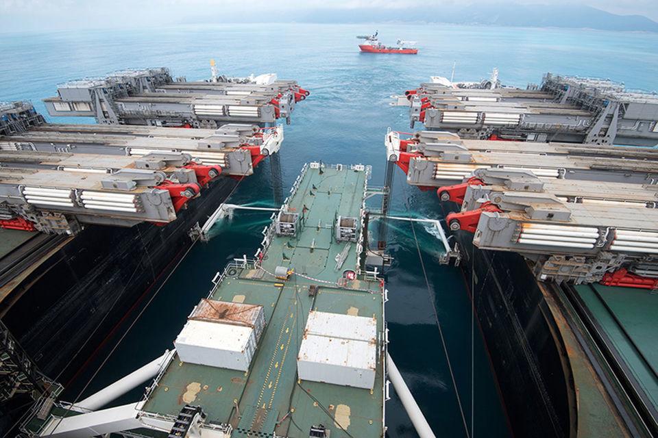 «Газпром» строит газопровод «Турецкий поток» через Черное море до европейской части Турции
