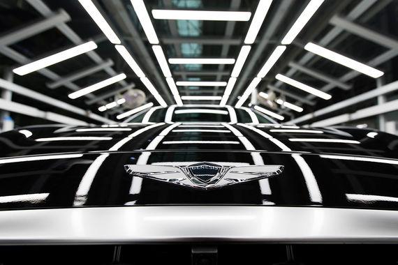 у автомобилей Genesis появятся монобрендовые салоны ведомости