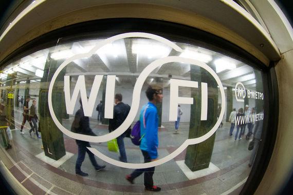 Бесплатным WiFi в московском транспорте пользуется пятая часть московских абонентов