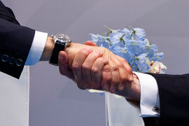 Рукопожатие президентов