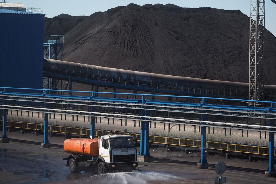 Угольные терминалы на Северо-Западе работают на максимальной мощности