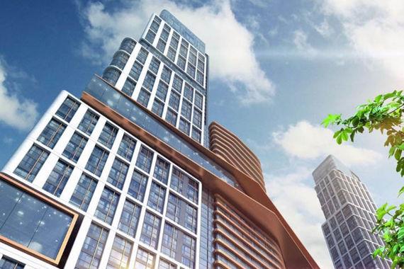 Пять жилых башен высотой от 140 до 262 м, созданных в единой футуристической концепции, которые станут новой архитектурной доминантой Донского района, — так описывается проект «Нескучный HOME & SPA» (на фото макет одного из зданий) на сайте застройщика — компании Gorn Development. Стройка на месте жилого квартала недалеко от Нескучного сада стартовала еще в 2005 г. За это время город дважды пересогласовывал проект. Менялась его концепция. Сейчас жилая площадь проекта — 190 000 кв. м.