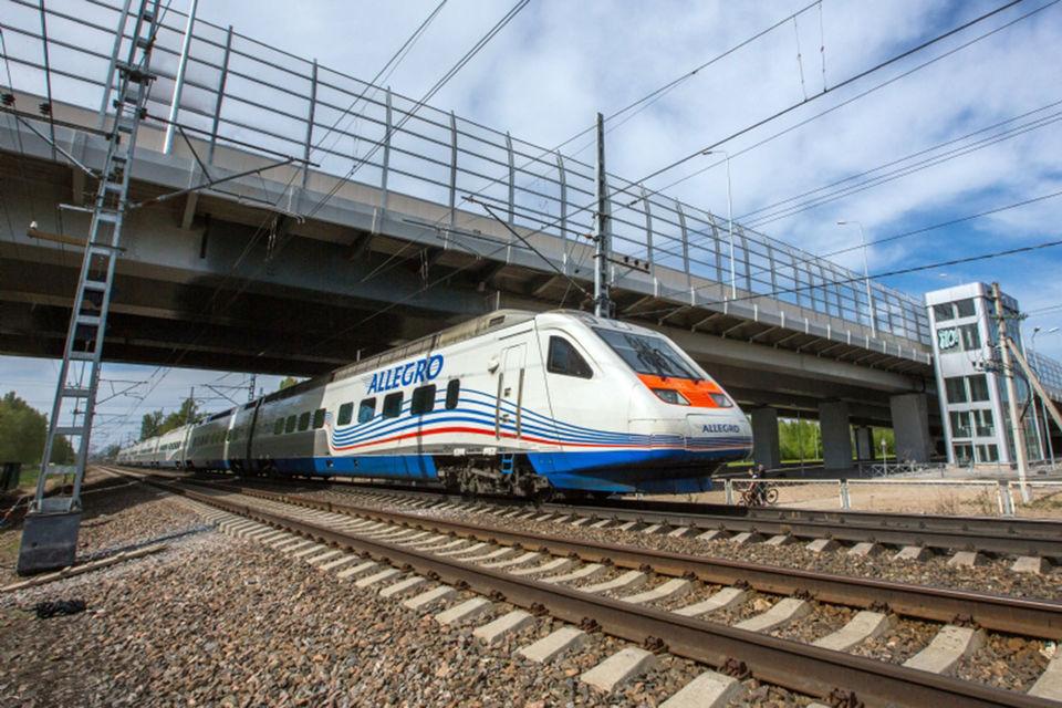 Перевозки пассажиров поездами «Аллегро» выросли на 30%