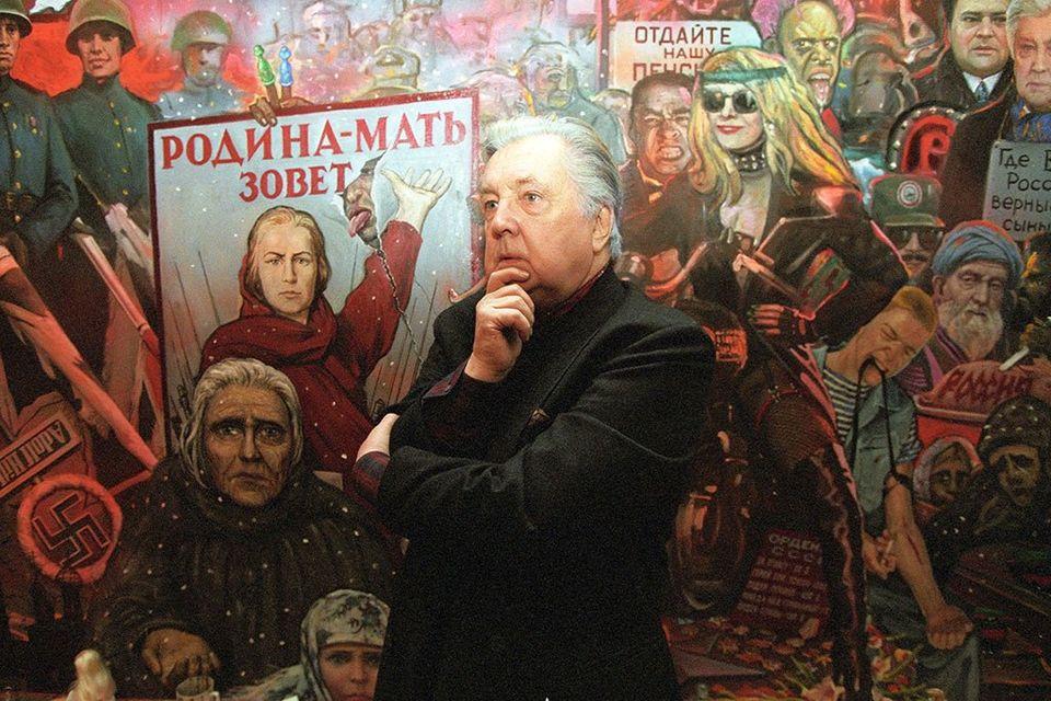 Илья Глазунов – живописец, график, автор книжных иллюстраций, театральный сценограф, педагог и общественный деятель