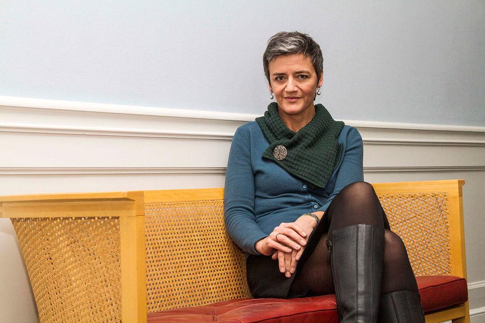 Маргрете Вестагер, комиссар ЕС по вопросам конкуренции
